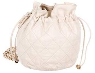Chanel Drawstring Small Bucket Bag