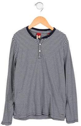 Scotch Shrunk Boys' Layered Striped Shirt w/ Tags