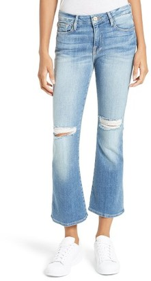 Women's Frame Le Crop Mini Boot Jeans $249 thestylecure.com