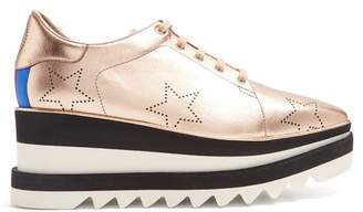 Stella McCartney Sneak-Elyse faux-leather platform shoes
