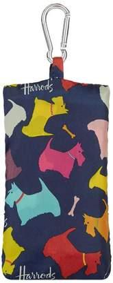 Harrods Multi-Coloured Scottie Pocket Shopper