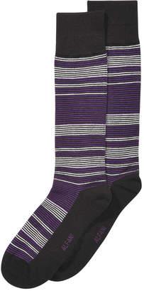 Alfani Men's Alfa Tech Horizon Striped Socks, Created for Macy's