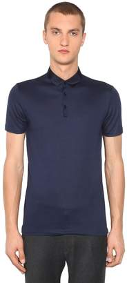 Lanvin Cotton Pique Polo Shirt