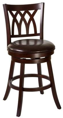 "Hillsdale Furniture 31"" Tateswood Swivel Bar Stool Cherry/Brown"