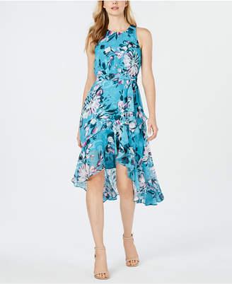 Taylor Sleeveless Chiffon Midi Dress