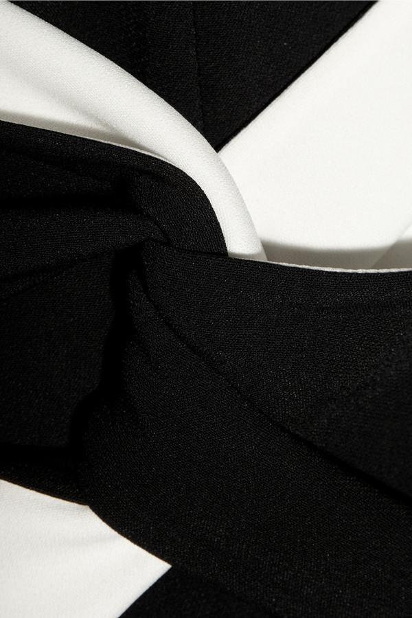 Roland Mouret Ebony stretch-crepe dress