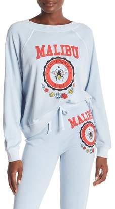 Wildfox Couture Malibu Crest Sommers Graphic Sweatshirt