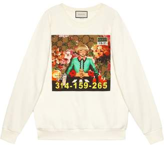 Gucci Ignasi Monreal print sweatshirt