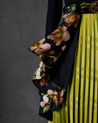 Ted Baker LILIA Arboretum long silk scarf