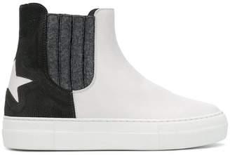 Lorena Antoniazzi two-tone ankle boots
