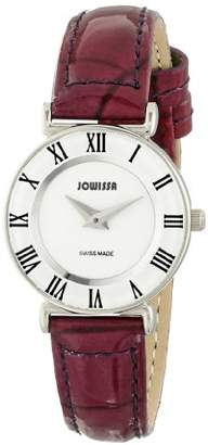 Jowissa Women's J2.012.S Roma Colori Stainless Steel Watch with Purple Patent Leather Band