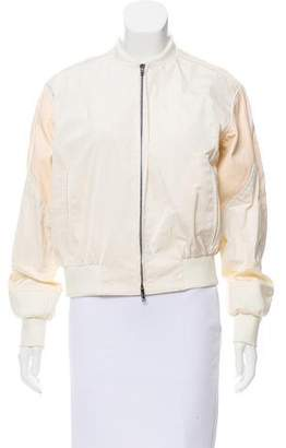 Reed Krakoff Leather-Paneled Bomber Jacket