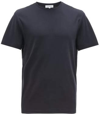 Odyssee - Pinede Cotton Jersey T Shirt - Mens - Navy
