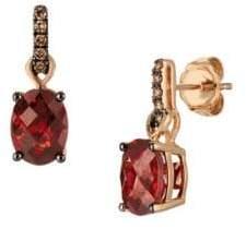 LeVian 14K Strawberry Gold Drop Earrings
