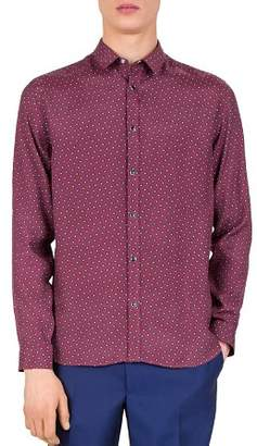 The Kooples Unk. Slim Fit Button-Down Shirt