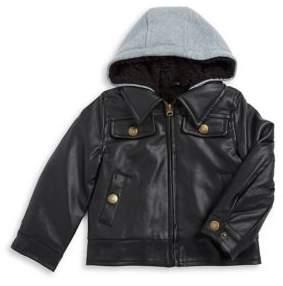 London Fog Little Boy's Moto Jacket