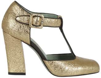 Paola D'arcano Livia T-strap Mary Jane Pumps