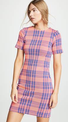 Cynthia Rowley Lincoln Plaid Knit Dress