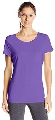 Hanes Women's Short-Sleeve Pocket T-Shirt