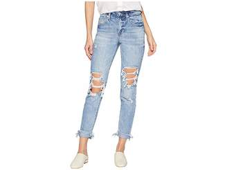 Blank NYC The Rivington Hi Rise Tapered Leg Denim Jeans in Jackpot