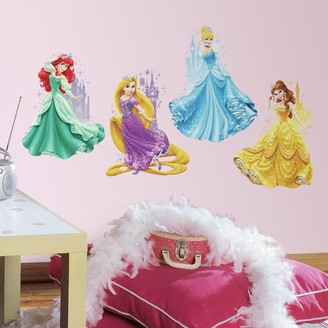 Roommates Disney's Princesses & Castles Peel & Stick Giant Wall Decals