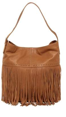 Lucky Brand Zori Leather Hobo Bag
