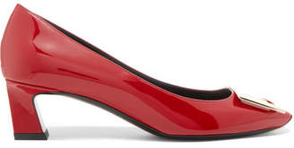 Roger Vivier Trompette Patent-leather Pumps - Red