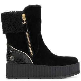 MICHAEL Michael Kors platform boots