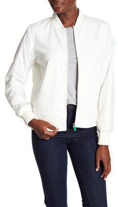 Save The Duck Split Collar Front Zip Jacket
