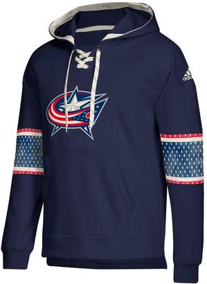 adidas Men's Columbus Blue Jackets Jersey Hoodie