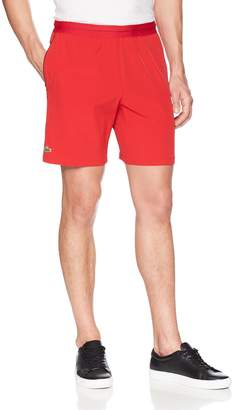 "Lacoste Men's Novak 7"" Stretch Woven Short"