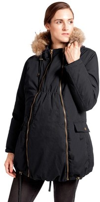 Women's Modern Eternity Convertible Down Maternity Jacket $285 thestylecure.com