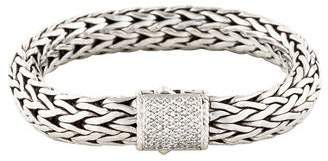 John Hardy Diamond Classic Chain 10.5mm Bracelet