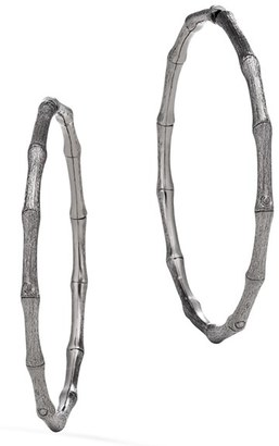 Women's John Hardy Bamboo Hoop Earrings $450 thestylecure.com