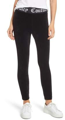Women's Juicy Couture Stretch Velour Leggings