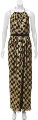 Jason Wu Lurex Maxi Dress