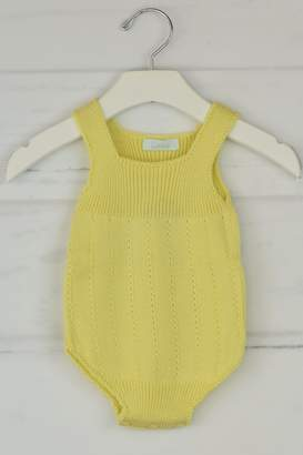 Granlei 1980 Yellow Knitted Onesie