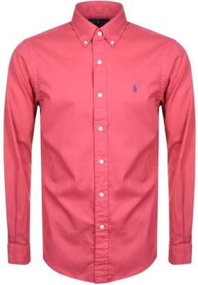 Ralph Lauren Long Sleeved Shirt Red