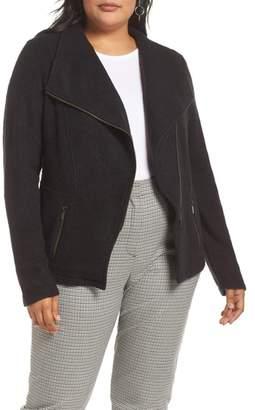 Halogen Knit Moto Jacket
