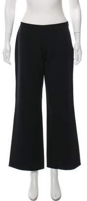 Agnona Wool High-Rise Pants