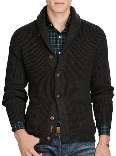Polo Ralph Lauren Cotton Shawl-Collar Cardigan