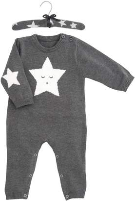 Elegant Baby Baby Cable Knit Coverall