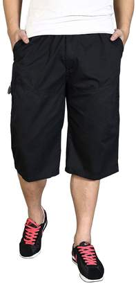 Banana Bukcet Men's Big & Tall Loose Fit Thin Cargo Shorts