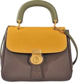 Burberry Medium DK88 Top Handle Bag $2,095 thestylecure.com