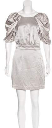Camilla And Marc Silk Mini Dress