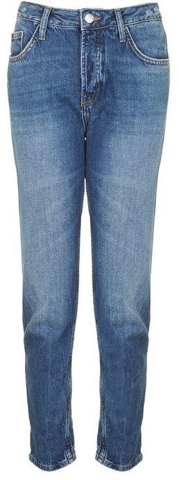 TopshopTopshop Moto dark blue hayden jeans