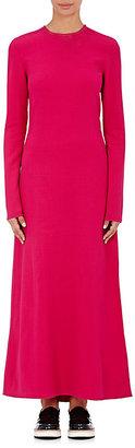 Derek Lam Women's Long-Sleeve Maxi Dress-PINK $2,050 thestylecure.com