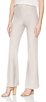 Lysse Women's Flare Slit Stretch Crepe Pant