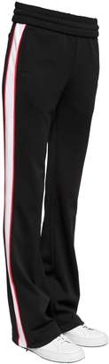 Off-White Flared Track Pants W/ Side Bands