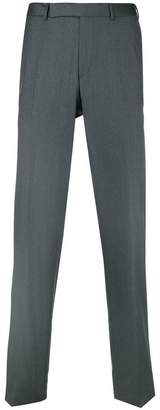 Ermenegildo Zegna creased slim-fit trousers